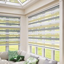 Duo Roller Blinds - Stevens Scotland Window Blind Manufacturers